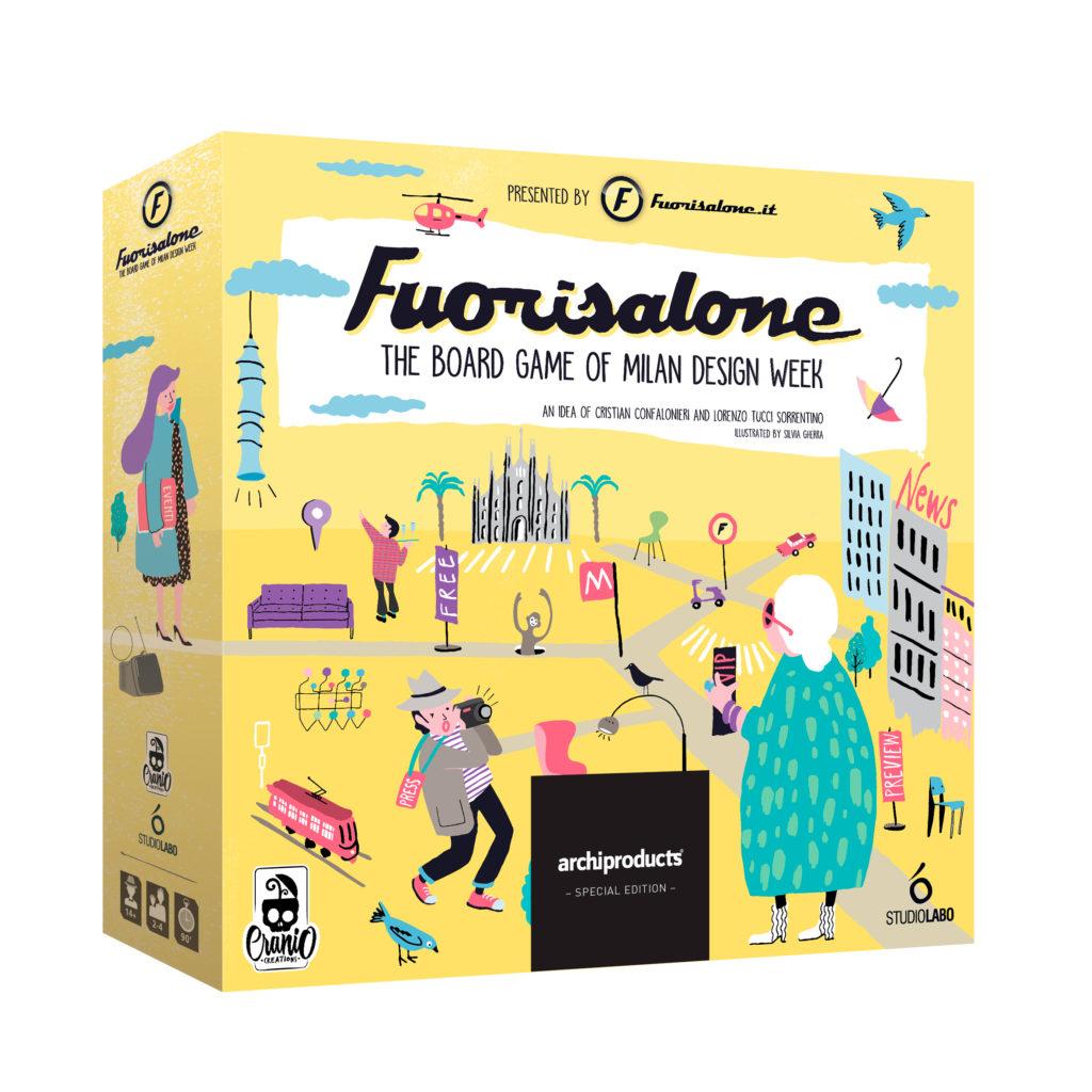The Milan Design Week Board Game Fuorisalone The Board